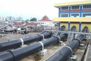 Pompa Air Mati, Kawasan Rawa Buaya Terendam Banjir