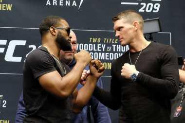 Adu Gengsi Woodley dan Thompson, Laga Sengit UFC 209 Bakal Digelar