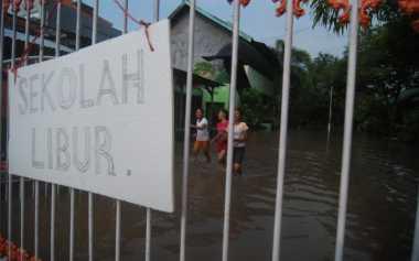 Banjir Mojokerto Makin Parah, 9 Sekolah Terpaksa Diliburkan