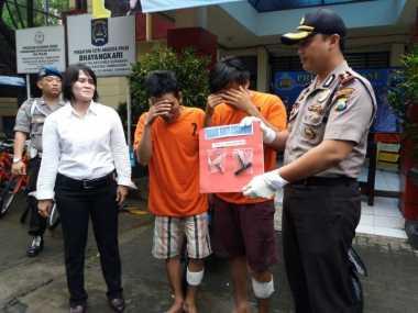 Melawan Polisi saat Akan Ditangkap, Dua Pencuri Motor Ditembak