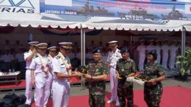 Silaturahim ke Indonesia, AL Jepang Kuatkan Hubungan dengan TNI AL