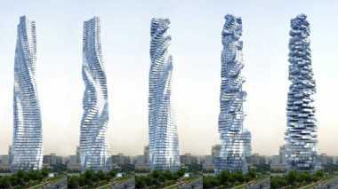 HOT THREAD (1): Dubai Siapkan Gedung Pencakar Langit Berputar 360 Derajat