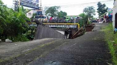 12 Titik di Kota Bogor Alami Longsor dan Rumah Ambruk