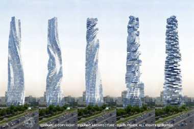 "Dubai Rencanakan Bangun Gedung Pencakar Langit ""Melintir"""