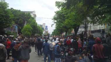Protes Hasil Pilkada Yogyakarta, Massa Blokade Jalan Magelang