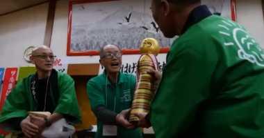 Pria Jepang Gelar Kompetisi Untuk Rayakan Kebotakan