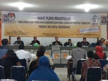 Hasil Pleno Pilgub Banten: Wahidin-Andika Menang Telak di Tangerang, Ini Rincian Suaranya