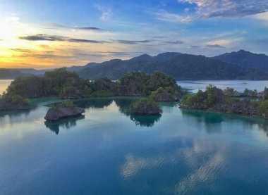 Wow, Kecantikan Pulau Sombori di Sulawesi Tenggara Tak Kalah dengan Raja Ampat