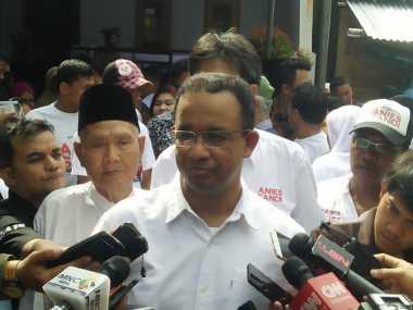 Anies Bahas Putaran Kedua Pilkada DKI Bersama Titiek Soeharto