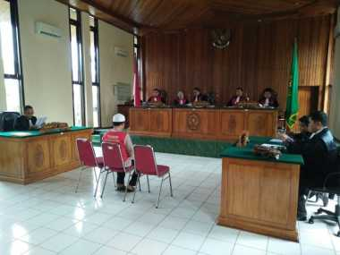 Lima Terdakwa Pembakar Polsek Tabir Dituntut 3 Tahun Penjara
