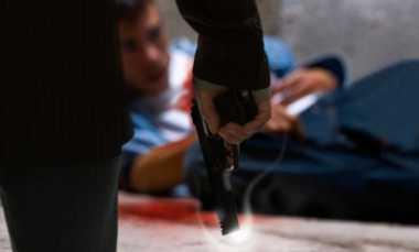 Nekat Tabrak Polisi, Dua Bandar Sabu Tewas Didor