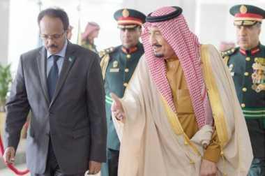 Jelang Tur ke Asia, Raja Salman Sambut Presiden Somalia