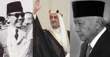 Beda Perlakuan Raja Saudi pada Era Soekarno dan Soeharto