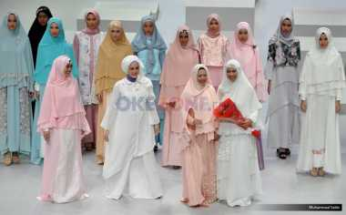 Warna Pastel Mendominasi Tren Busana Muslim Syar'i Tahun Ini