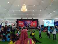 Seluruh Siswa Yayasan Angkasa Ramaikan Sky Education Expo 2017