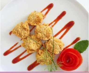 RESEP PILIHAN: Santai Weekend Sambil Ngemil Kriuk Tahu Walik Isi Ayam