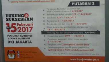 KPU Pertimbangkan Adanya Kampanye Kedua di Pilgub DKI Jakarta
