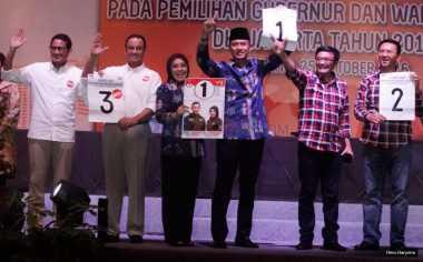 Ini Hasil Pleno Rekapitulasi Suara di Enam Wilayah DKI Jakarta