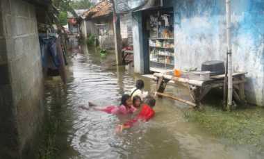 Dua Desa di Babelan Masih Banjir Akibat Meluapnya Kali Bekasi