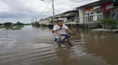 Pemkot Tangerang Bangun Tanggul Sementara Kali Angke