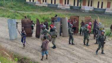 Antisipasi Bentrok Susulan, Tambahan Brimob Dikerahkan ke Intan Jaya