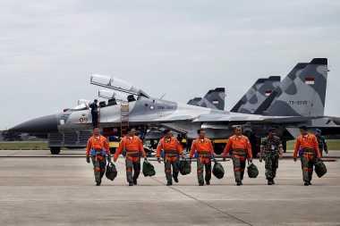 Raja Salman Mau ke Bali, Jet Tempur Mangkal di Bandara Ngurah Rai