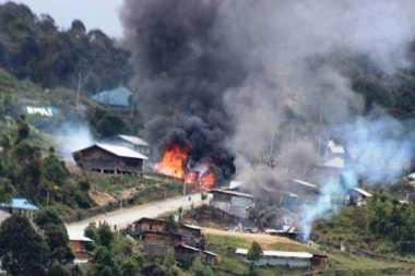 Bentrok Akibat Pilkada di Intan Jaya Sudah Tewaskan 4 Warga