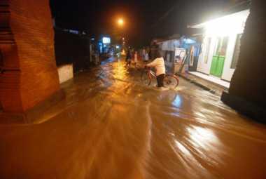Banjir Kembali Terjang Mojokerto, 8 Desa dan 3 Kelurahan Terendam