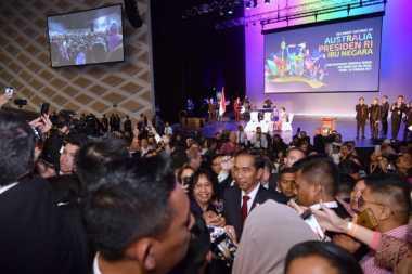 Temui WNI di Australia, Jokowi Bagikan Kuis Berhadiah Sepeda