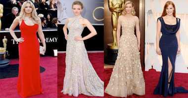 Dress Paling Memukau di Red Carpet Oscar dari Tahun ke Tahun