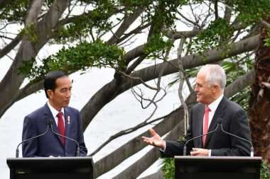 Bertemu PM Australia, Jokowi: Kedua Negara Sepakat Tak Ikut Campur Urusan dalam Negeri