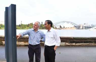 Jalan Pagi Bareng PM Australia, Jokowi Sapa Warga Sydney
