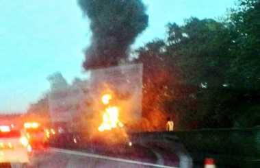Sopir Truk Tangki Pertamina yang Terbakar di Tol Jagorawi Dipastikan Selamat