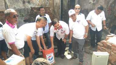 Terima Bantuan Kebakaran, Ketua RW: Saya Apresiasi Partai Perindo, Semoga Sukses...