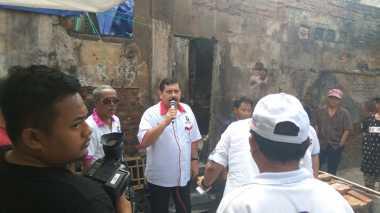 Bantu Korban Kebakaran di Senen, Perindo Jakarta: Ini Bentuk Komitmen Kami
