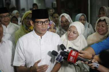 Tanggapan Sandiaga Uno soal Ahok yang Semobil dengan Jokowi