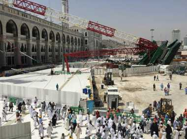 Berkunjung ke Indonesia, Raja Salman Diminta Tepati Janji ke Korban Crane Masjidil Haram