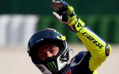 """Valentino Rossi seperti """"Binatang"""" Saat Membalap"""