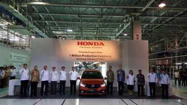 Dari 1 Juta Unit, Model Mobil Apa yang Paling Banyak Diproduksi Honda?