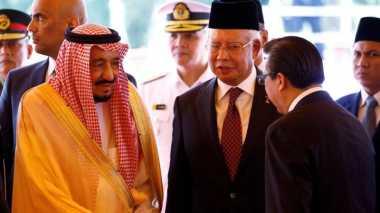600 Delegasi Saudi Dampingi Raja Salman di Malaysia