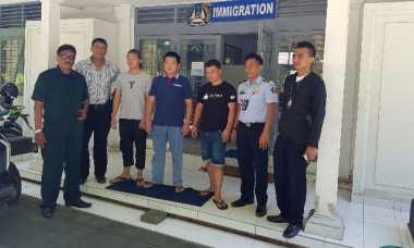 Aparat Cokok Tiga Pekerja Ilegal Asal China di Pelabuhan Benoa