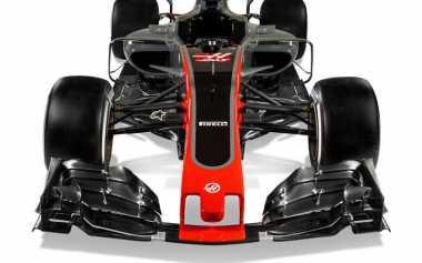 Ini Dia Penampakan Mobil F1 Baru Haas Musim 2017