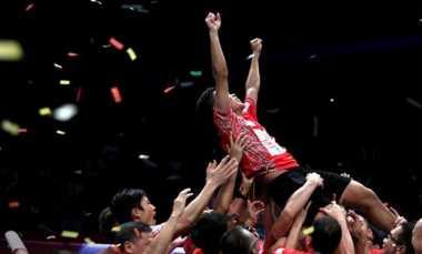 Jadi Penentu Kemenangan Musica, Anthony Akui Sudah Siap Mental Sejak Awal di Final Superliga Badminton 2017