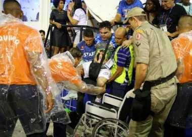 Arak-arakan Parade Samba di Brasil Tabrak Penonton, 20 Terluka