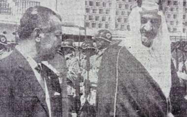 Pertemuan Tiga Hari sang Raja dan Presiden