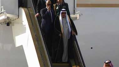 RAJA SALMAN: Delegasi Saudi Biasa Bawa Rombongan Besar