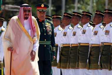 Delegasi Resmi Kunjungan Raja Salman Ternyata Cuma ...