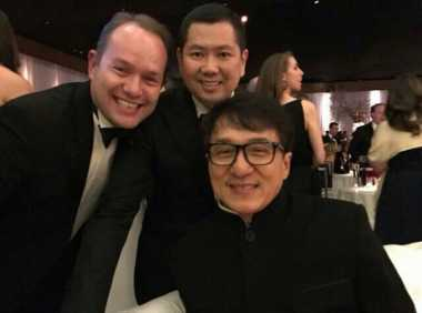 Netizen: Hary Tanoe dan Jackie Chan Kece Badai