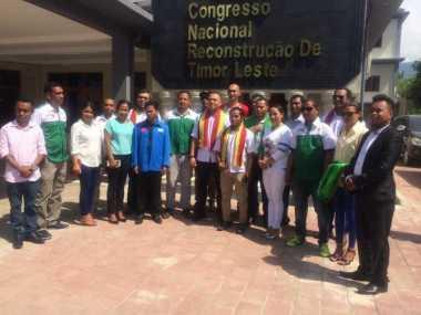 CNRT Ajak Pemuda Perindo Tinjau Persiapan Pemilu di Liquica