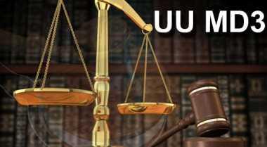 MK Tolak Gugatan 4 Anggota DPD Terkait UU MD3